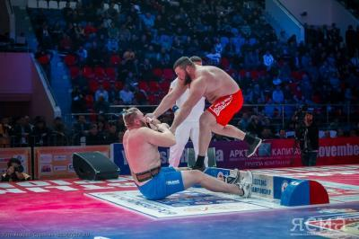 Mas-wrestling World Championship watched viewers from nine countries