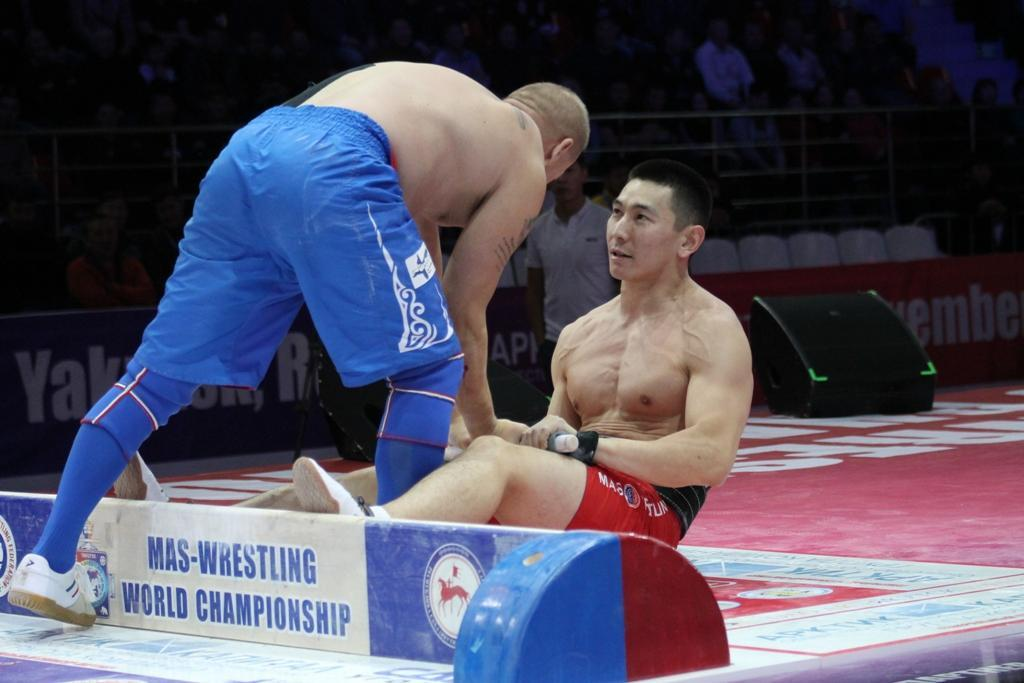 The Association of Lawyers of Russia is ready to promote mas-wrestling to the Olympic level