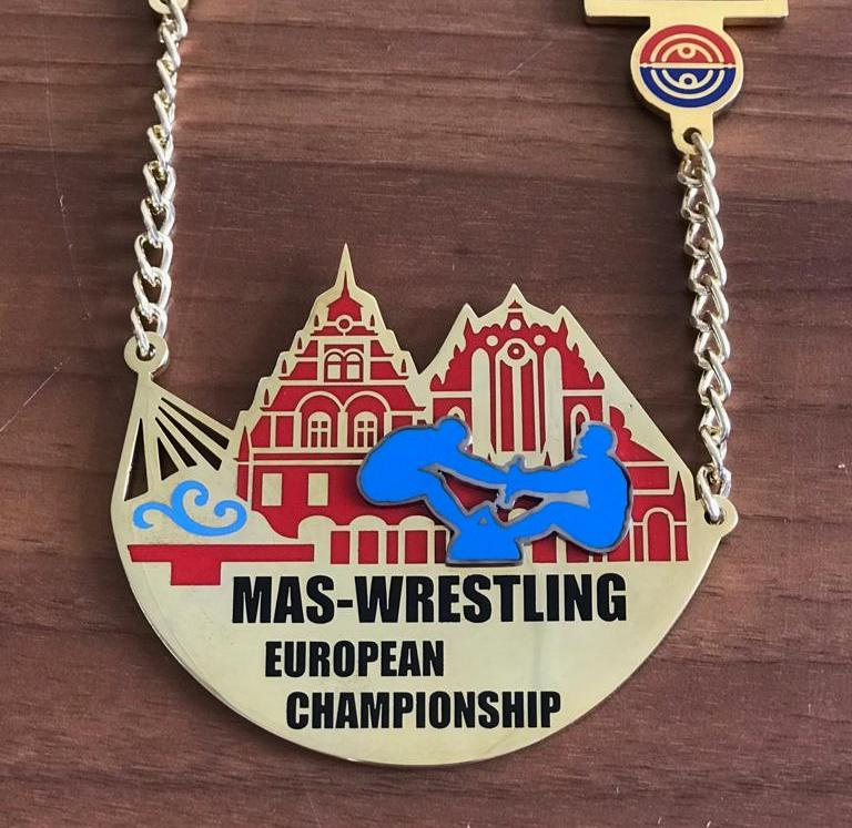 The strongest mas-wrestlers of Europe are heading to Riga