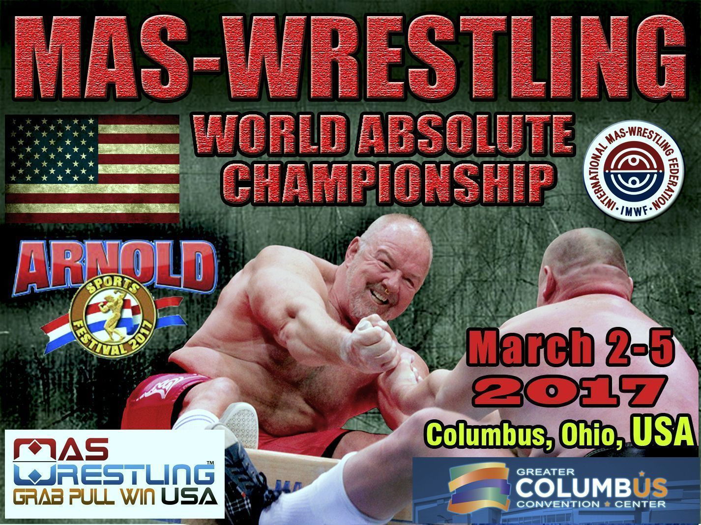 Mas-Wrestling World Absolute Championships - 2017