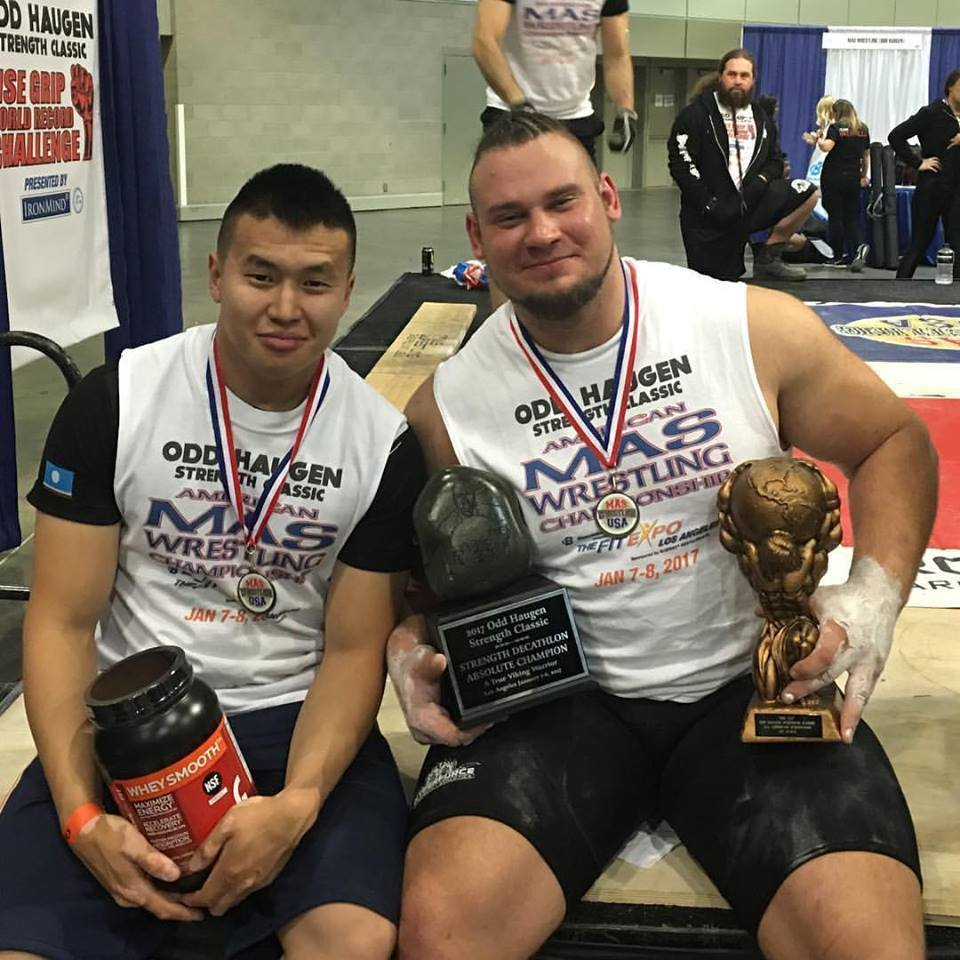 Vitaly Danilov from Yakutia became the Champion of the United States of America