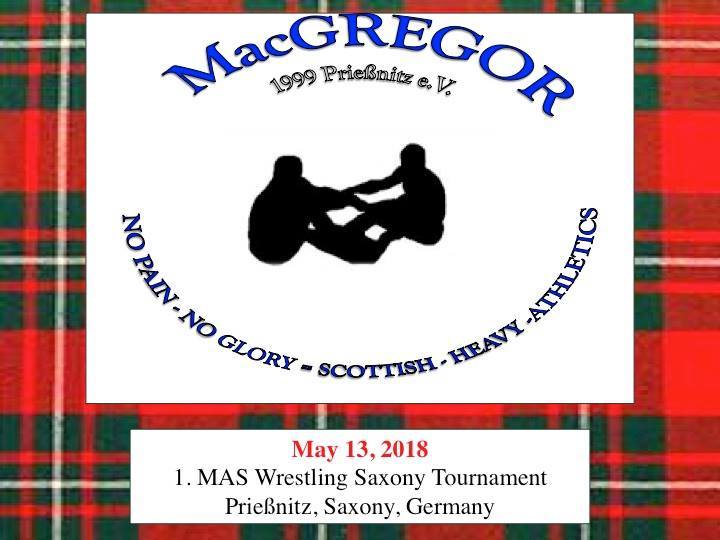 Welcome to the 1st annual Mas Wrestling Saxony Tournament!