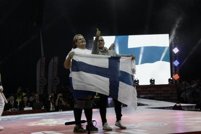 """It was just incredible!"" Anniina Vaarmanmaa is now the strongest woman in the world"