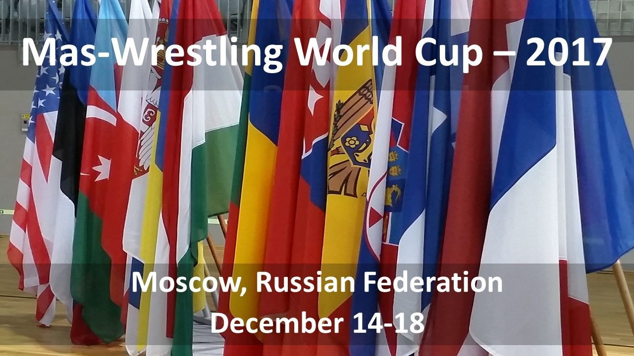 Who claims to a place in history after the Moscow stage of the Mas-Wrestling World Cup?