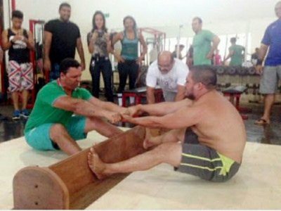 Modern history of mas-wrestling development. Brazil