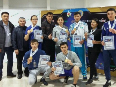 Mas-Wrestling Tengri Cup was held in Almaty