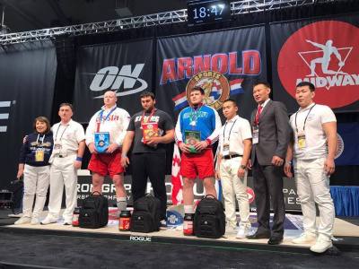 The Results of the Mas-Wrestling World Absolute Championship, Columbus, Ohio