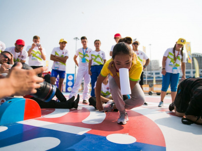 Fun Run completed the work of the Mas-Wrestling's site in Sochi